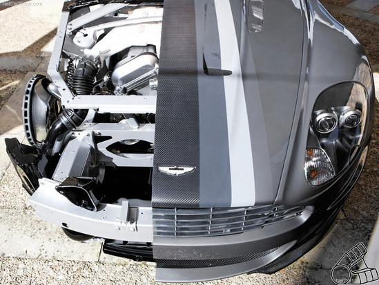 Вскрытие спортсмена-джентельмена. Aston Martin изнутри. Изображение № 4.