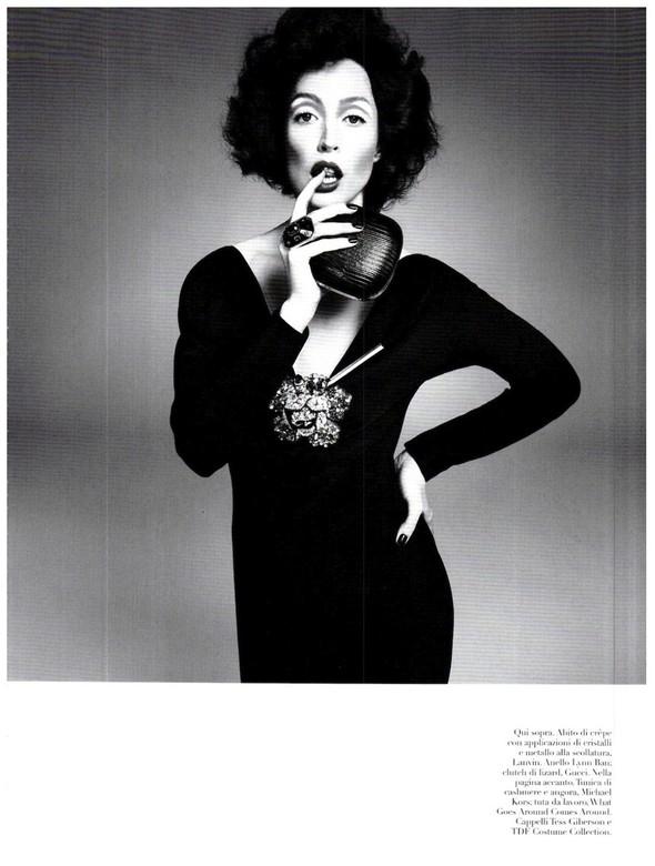 Съёмка: Ракель Зиммерманн для Vogue. Изображение № 2.