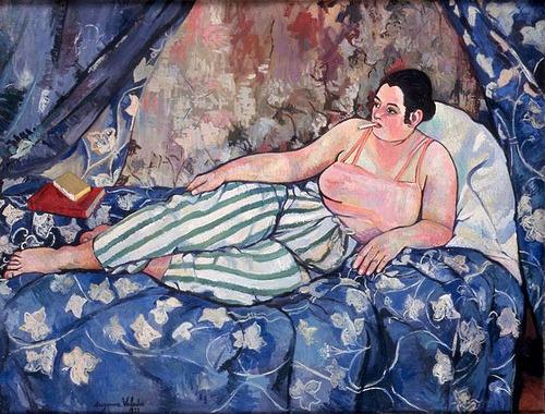 Сюзанна Валадон «Голубая комната». Изображение № 8.