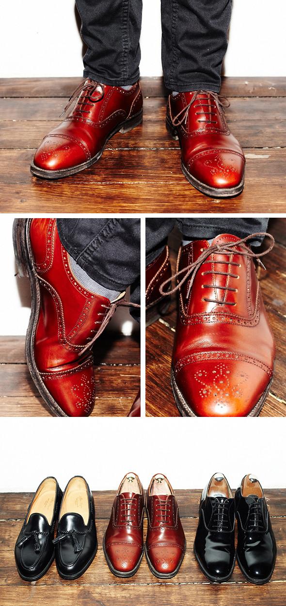 Изображение 21. Гардероб: Анатолий Хмелевской, совладелец компании British Shoes.. Изображение № 14.