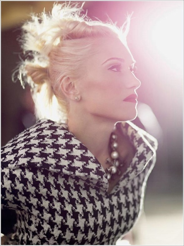 Gwen Stefani, ELLE USJuly 2009. Изображение № 5.
