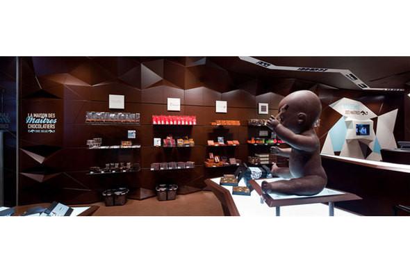 Изображение 1. Каким может быть интерьер магазина шоколада.. Изображение № 1.