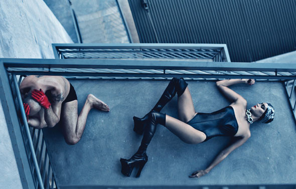 Mr. & Mrs. Willis by Steven Klein. Изображение № 4.