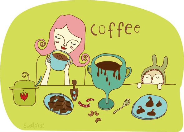 Забавные иллюстрации sweetpirat. Изображение № 2.