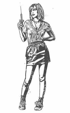 Девушки с оружием от Frank Barbara. Изображение № 32.