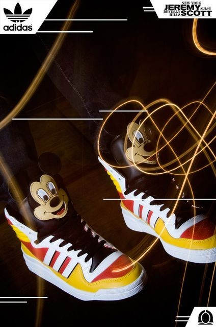 Adidas и Микки Маус. Изображение № 1.