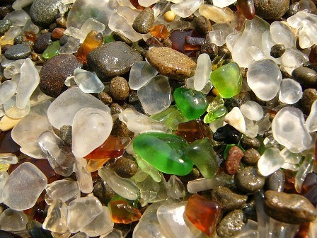 Стеклянный пляж в Калифорнии. Изображение № 2.