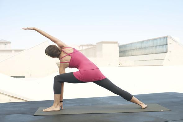 «Живая витрина йоги» в магазинах adidas. Изображение № 2.