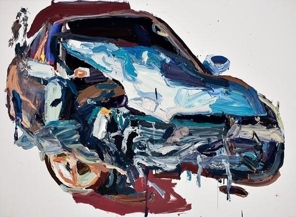 Абстрактные автомобили Бена Куильти. Изображение № 3.