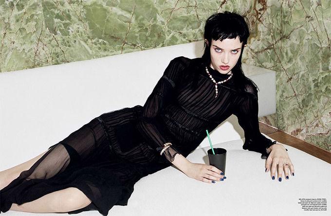Вышли новые съемки из Lula, The Room, Vogue и других журналов. Изображение № 50.