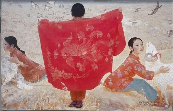 Wang Yi Guang. Feitain, или летающий пух. Изображение № 25.