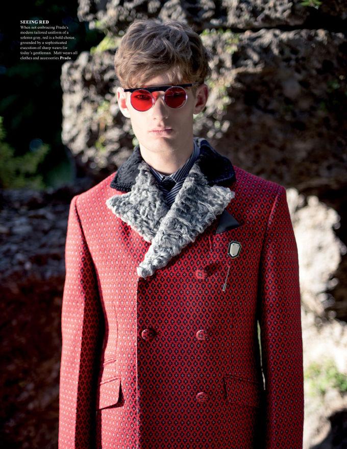 Вышли новые мужские съемки из Citizen K, Fashionisto, Vogue и других журналов. Изображение № 24.