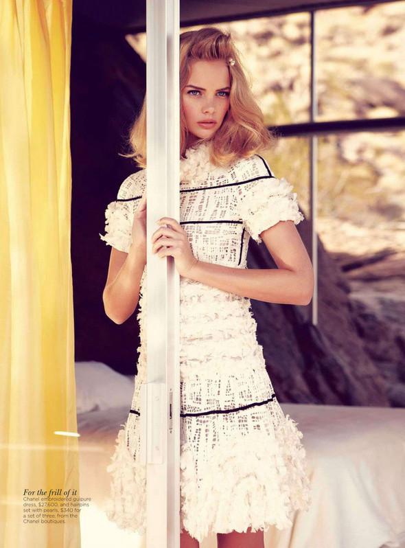 Съёмка: Марло Хорст и Кендра Спирс для австралийского Vogue. Изображение № 3.