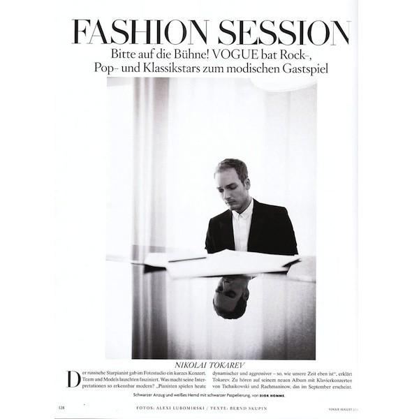 5 новых съемок: Dossier, Elle, V и Vogue. Изображение № 30.