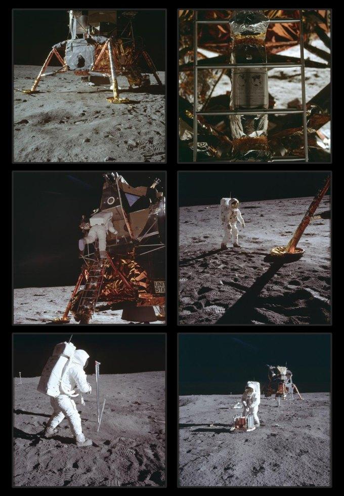 NASA выложили онлайн фотоисторию миссии «Аполло». Изображение № 6.
