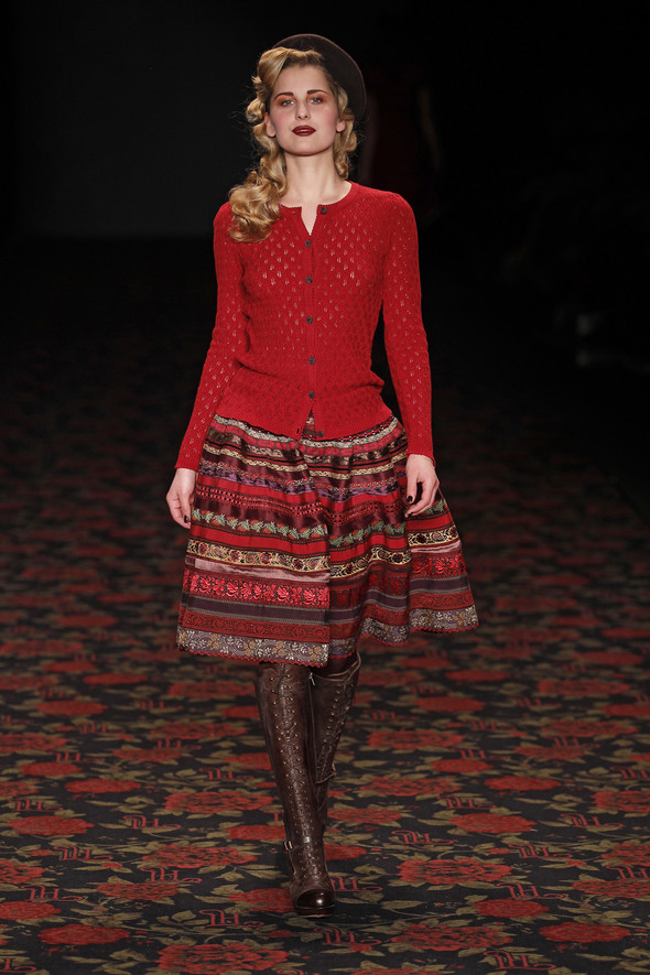 Berlin Fashion Week A/W 2012: Lena Hoschek. Изображение № 69.