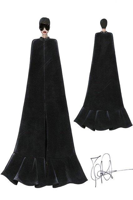 Рикардо Тиши создал концертные костюмы Рианны. Изображение № 2.