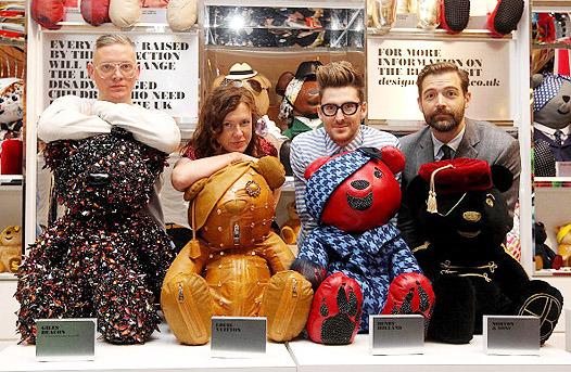 Медвежья услуга: плюшевые мишки от модных дизайнеров. Изображение № 6.