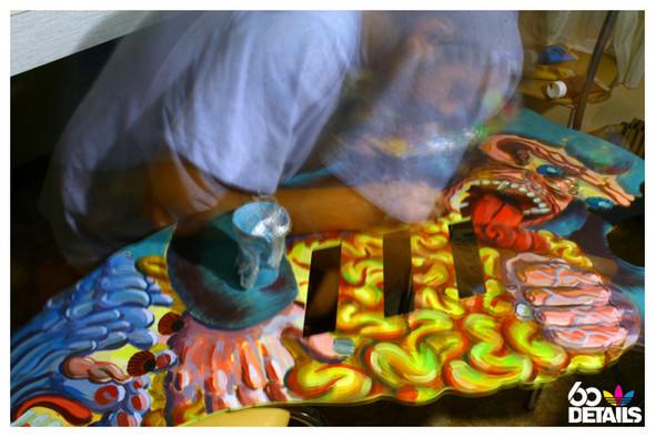 2D sculpture artist: Polet (process & lifestyle). Изображение № 1.