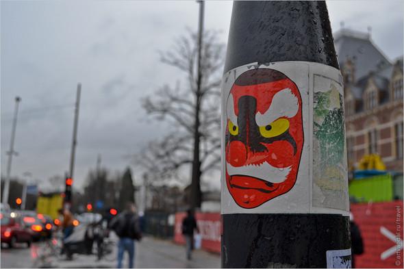 Стрит-арт и граффити Амстердама, Нидерланды. Изображение № 5.