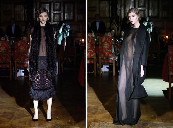 Изображение 9. Vardoui Nazarian FW 2011: прозрачные юбки и пушистые майки.. Изображение № 9.