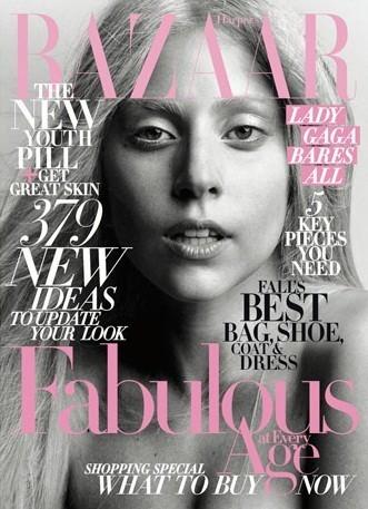 Съёмка: Леди Гага для Harper's Bazaar. Изображение № 1.
