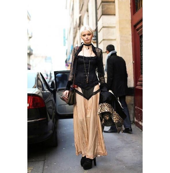 Изображение 181. На полях: 10 тенденций уличного стиля с прошедших недель моды.. Изображение № 181.