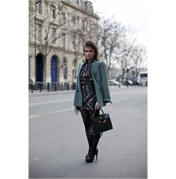 Луки с Недели моды в Париже. Изображение № 73.