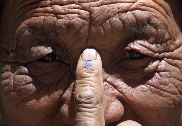 100 лет выборов в документальных фотографиях. Изображение № 131.