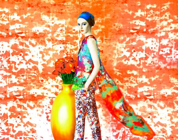 Лукбук: Mary Katrantzou SS 2012. Изображение № 5.