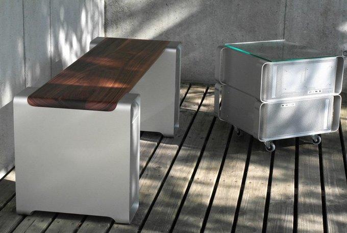 Дизайнер создал мебель изкомпьютера Apple. Изображение № 5.