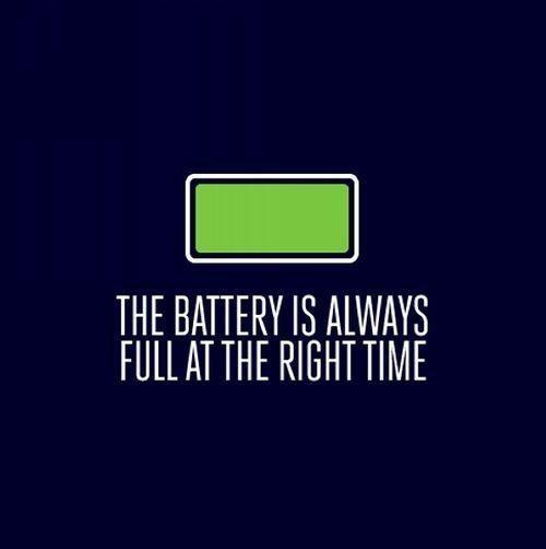 Батарея всегда полная в нужное время. Изображение № 1.
