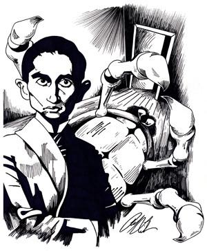 Карикатуры на писателей. Изображение № 55.