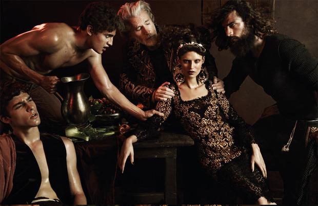 Вышли новые съемки Vogue, i-D, 10 и Interview. Изображение № 31.