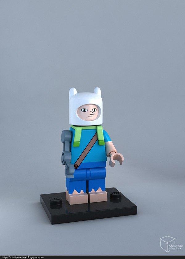 Концепт: персонажи Adventure Time в LEGO. Изображение № 2.