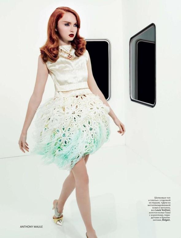 Съёмка: Лили Коул для российского Vogue. Изображение № 6.