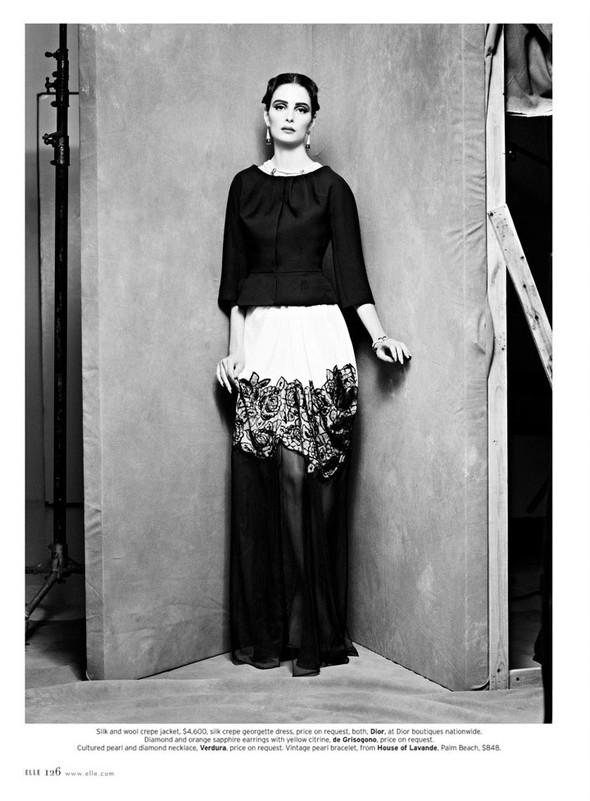 Съёмка: Сюзи Берд для Elle. Изображение № 6.