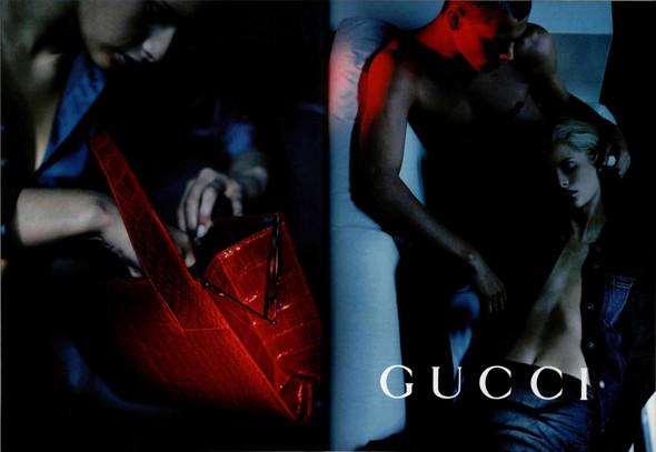 Архивная съёмка: Кампания Gucci SS 1998. Изображение № 5.
