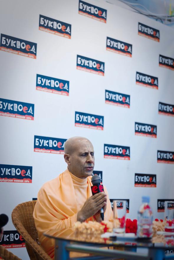 """Презентация книги Радханатха Свами """"Путешествие домой"""" 26.03.2012. Изображение № 3."""