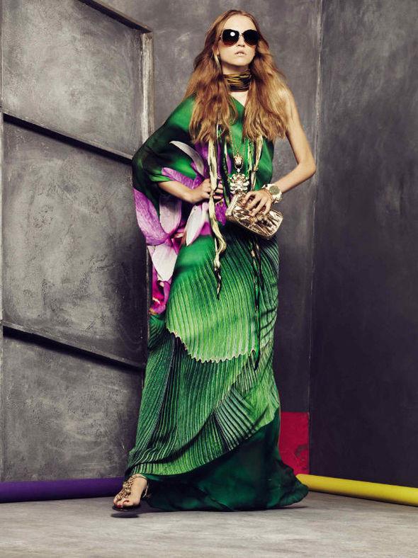 Изображение 28. Roberto Cavalli Lookbook Spring 2011.. Изображение № 28.