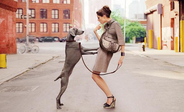 Кампания: Коко Роша и Лииса Уинклер для Longchamp SS 2012. Изображение № 2.
