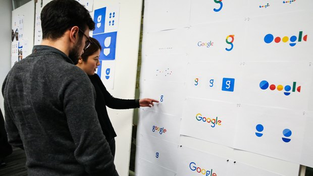 Дизайнер перерисовал пять рабочих логотипов Google. Изображение № 1.