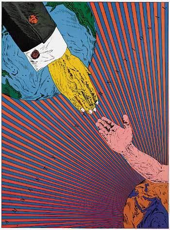 Блистательный японский график 70-х Tadanori Yokoo. Изображение № 14.