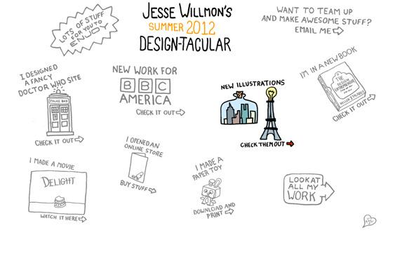 Ручная работа. Дизайн сайтов с рисованными элементами. Изображение № 20.