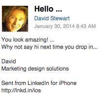Странные письма из LinkedIn собирают в блоге CreepedIn. Изображение № 6.