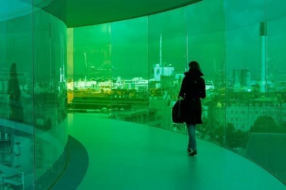 Изображение 5. Архитектурное бюро Olafur Eliasson придумало радужную панораму.. Изображение № 5.