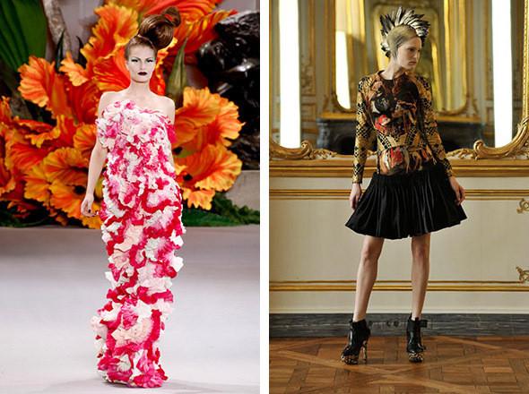 Christian Dior Couture FW 2010 / Alexander McQueen FW 2010. Изображение № 7.