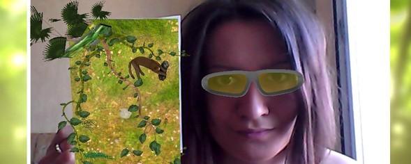 LG и AR Door переносят зрителей из дома в джунгли. Изображение № 2.