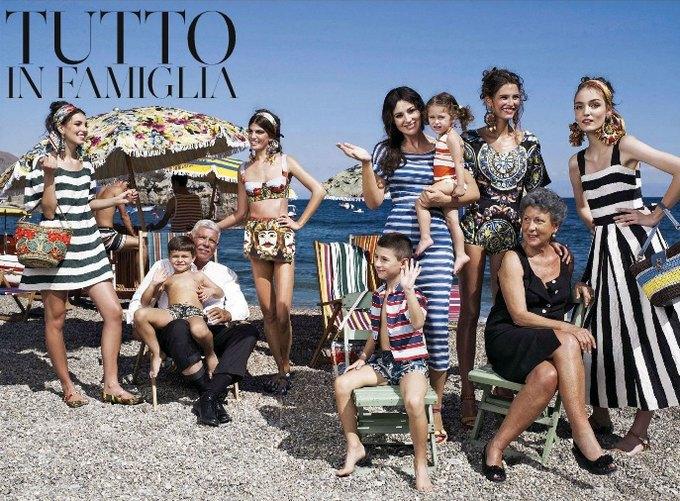 Вышли превью кампаний Versace, Dolce & Gabbana и других марок. Изображение № 1.