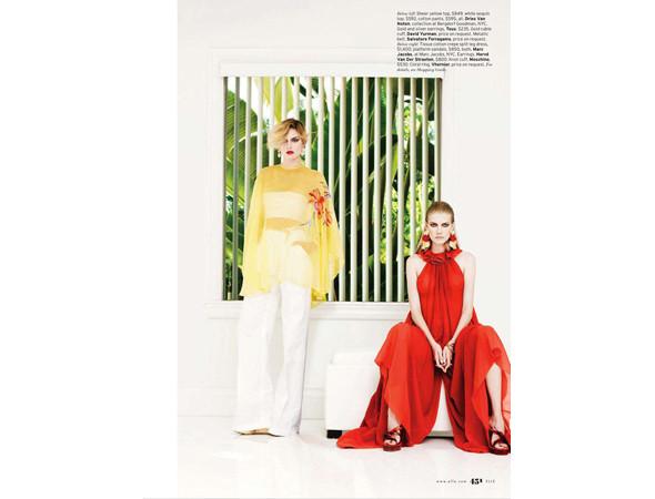 Съемка из американского Elle, март 2011. Изображение № 42.
